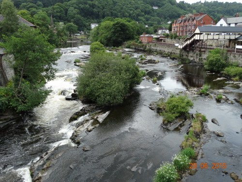 River Dee from the bridge
