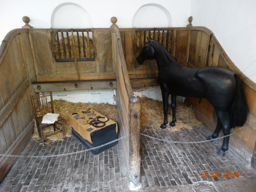 Stable area (with pretend horse)