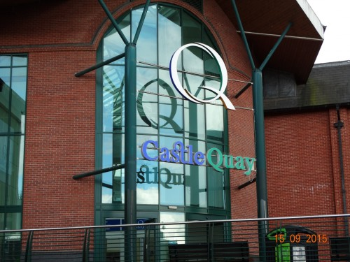 Castle Quay shopping mall
