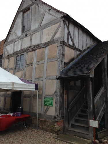 Tudor Barn inside the forecourt of Middleton Hall