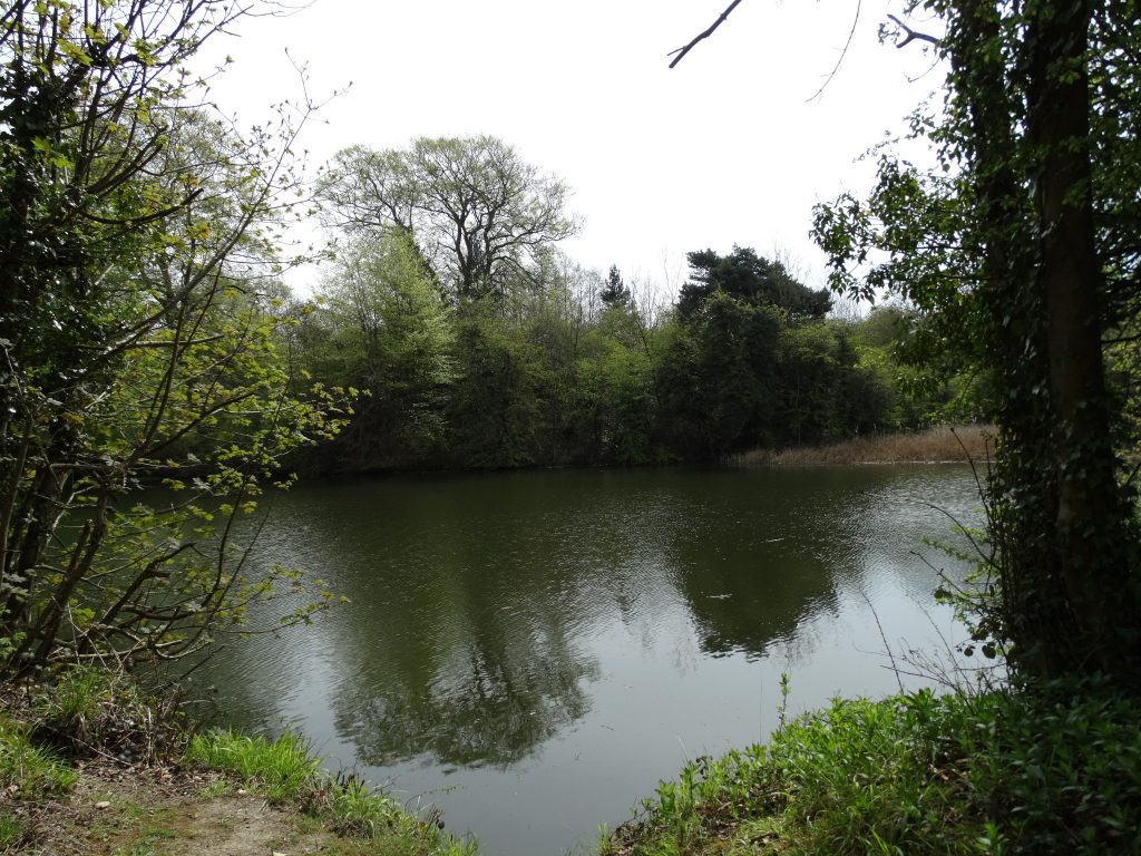 The lake at Park Lime Pits