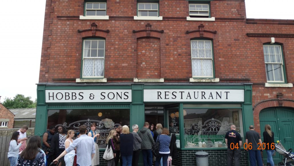 1930's Fish and Chip shop