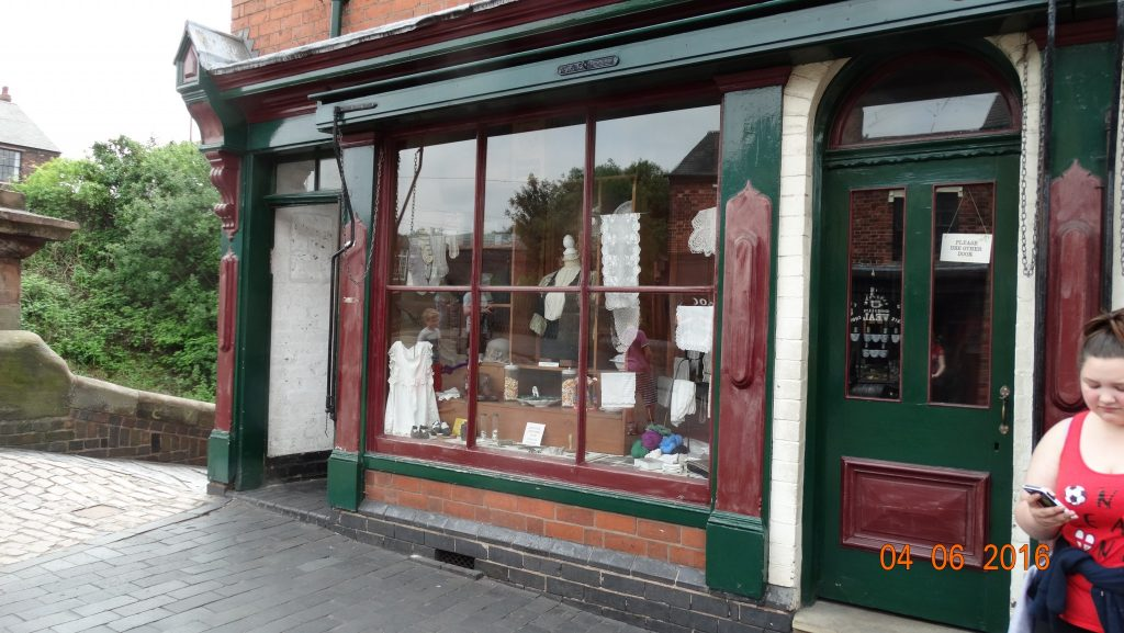 One of the many shops