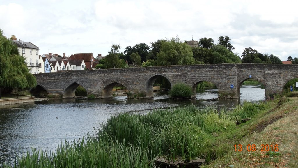 Bidford on Avon bridge, Originally built in 1482 by the monks of Alcester.