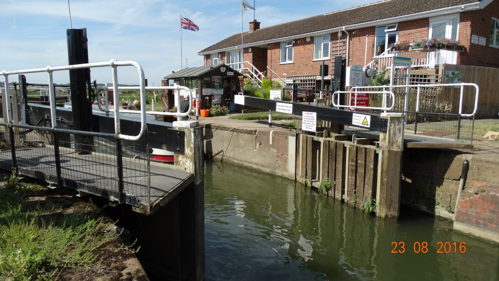 Avon lock, which will take us from the Avon to the Severn tomorrow