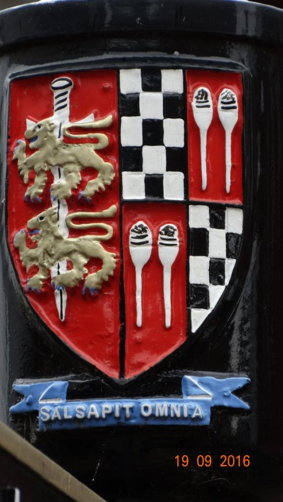 Droitwich Spa coat of arms