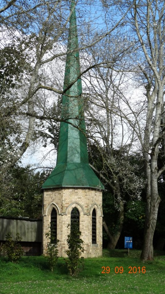 church spire made of grp