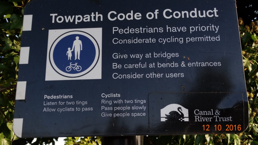 shame not all the cyclists take note