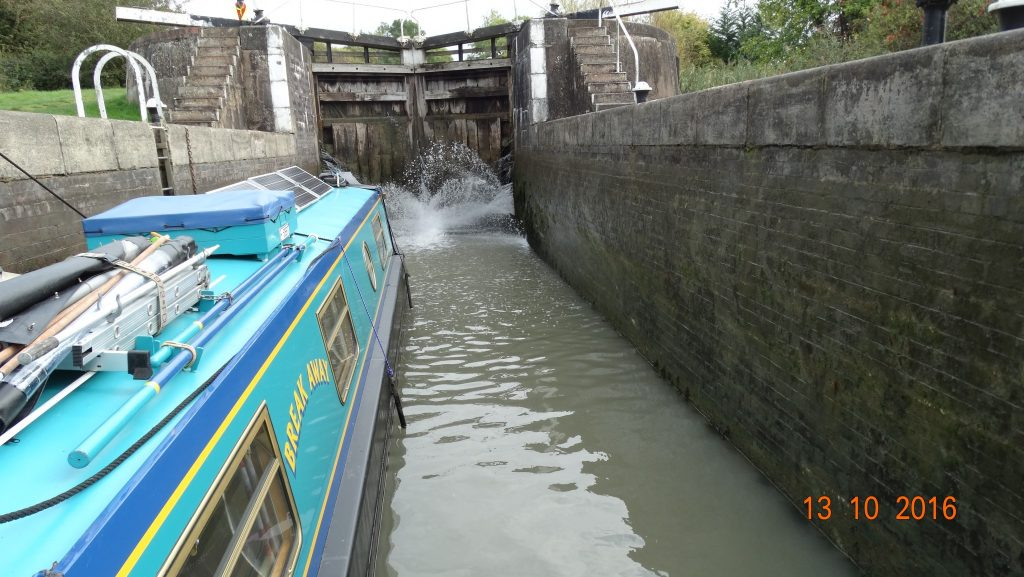 in the lock with leaky gates